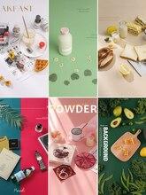 Macaron 12 Color Matte Effect Photography Backdrops PVC Board Waterproof Durable Photo Studio Background Props Food Fotografia