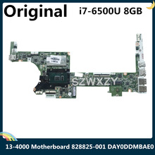 CPU Laptop Motherboard I7-6500u 828825-001 X360 for HP Spectre X360/13-4000/G2 8GB Ram-Day0ddmbae0