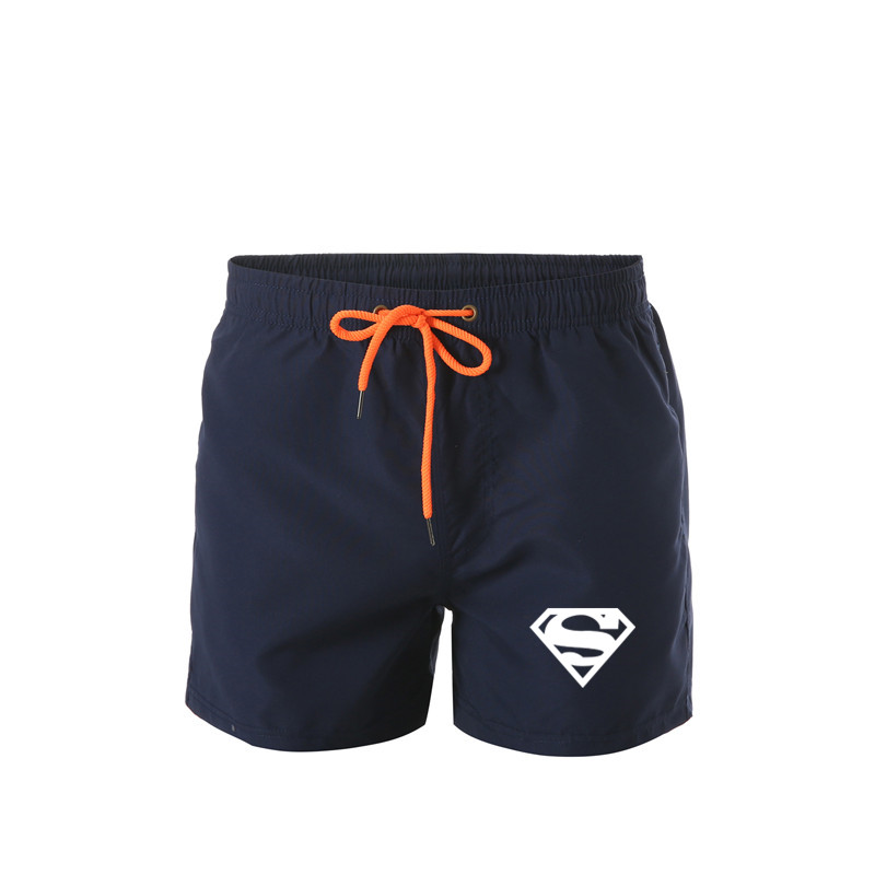 Superman Quick Dry Summer Men Shorts Mens Beach Shorts Briefs For Men Swim Trunks Swim Shorts Beach Brief Mesh Lining Liner