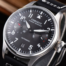 Corgeut 42mm Automatic Mechanical Watches Sport Men's