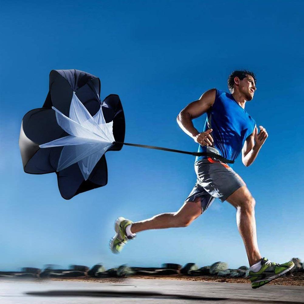 Speed Resistance Training Parachute Adjustable Parachute Movement Jogging Track Field Fitness Ball Umbrella Power Unit