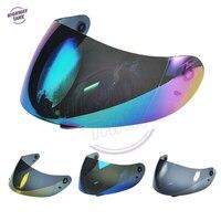 Casco para motocicleta Blule/Gold/Iridium/Smoke  4 colores  visera  cubierta de pantalla integral para AGV K3 K4  máscara visera