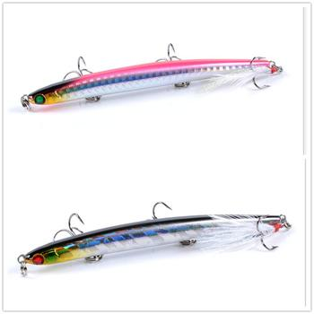 1pcs/ Winter fishing lifelike pencil Swim hard bait 11.7cm/11g Artificial 3D eyes crank lure laser rotation Jig Wobbler bait