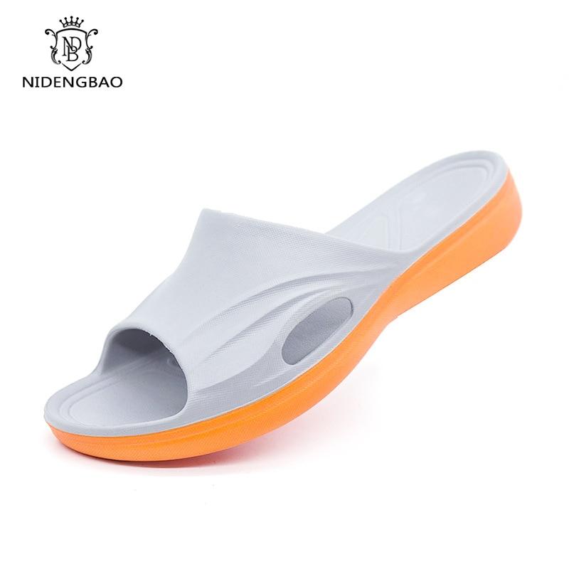 Bathroom Non-slip Slippers Men Big Size 38-49 Home Couple Shoes Men Environmentally Odorless High Quality EVA Light Slipper