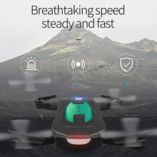 RC Drone JY018 2.0MP Camera 720P Wifi FPV Foldable Selfie Pocket Drone 6-Axis Gyro RC Quadcopter Selfie Pocket Drone недорого