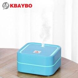 KBAYBO klimatyzacja nawilżacz zapachowy olejek eteryczny dyfuzor nawilżacz powietrza dyfuzor do aromaterapii z 7 kolorów LED