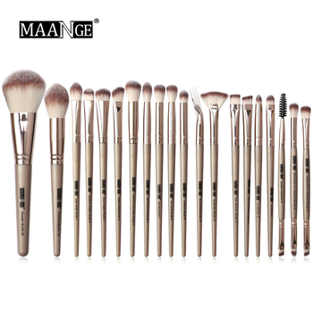 20pcs Professional Makeup Brushes Cosmetic Powder Eye Shadow Foundation Blush brow brush lip brush drop shipping 1