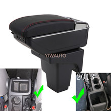 Armrest For Ford focus 3 2012 2013 Center Console Box Car Arm Rest Ashtray Storage Box with CUP Holder