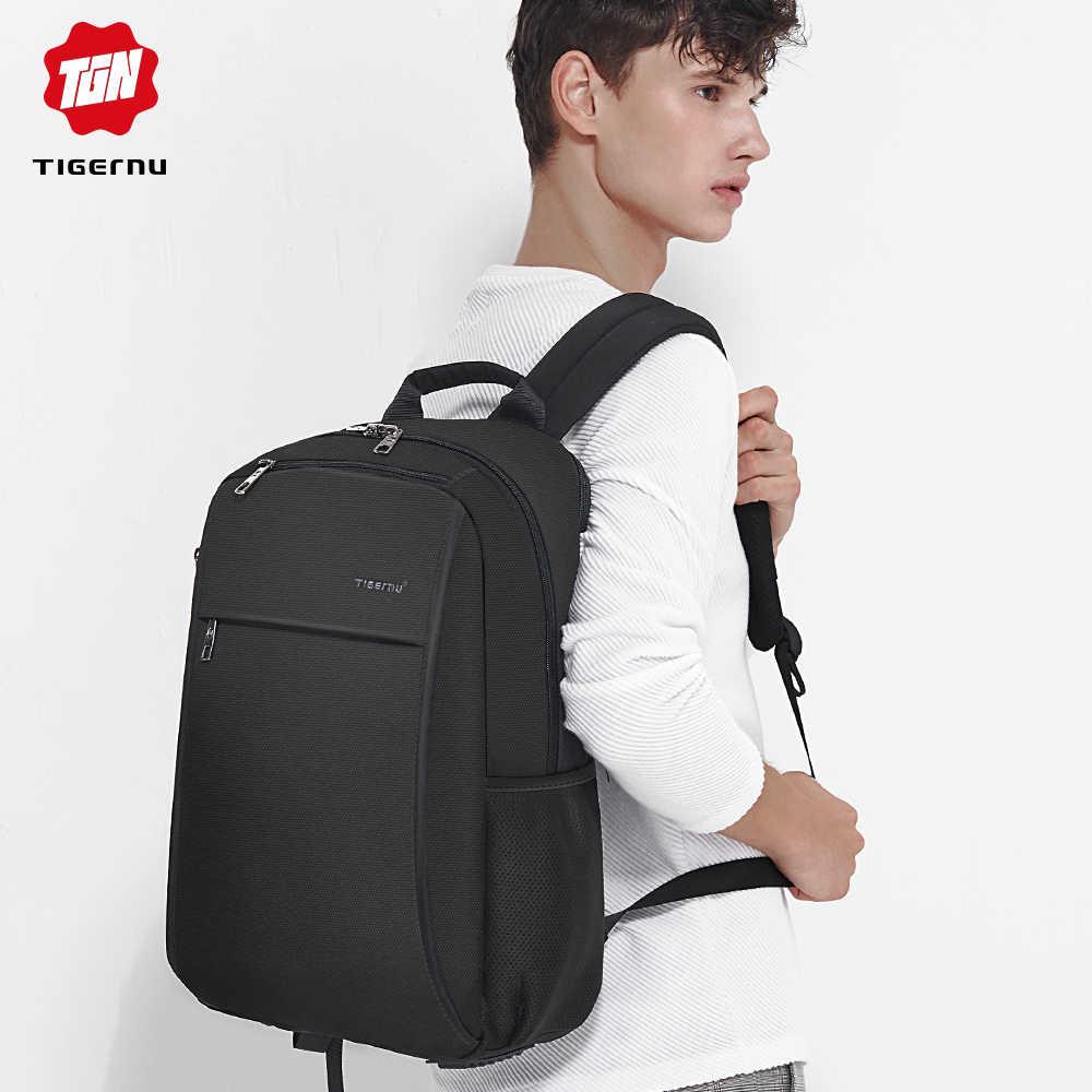 """Tigernu Анти Вор USB зарядка 15.6 """"ноутбук рюкзак для женщин мужской рюкзак школьная сумка для мужчин рюкзак"""