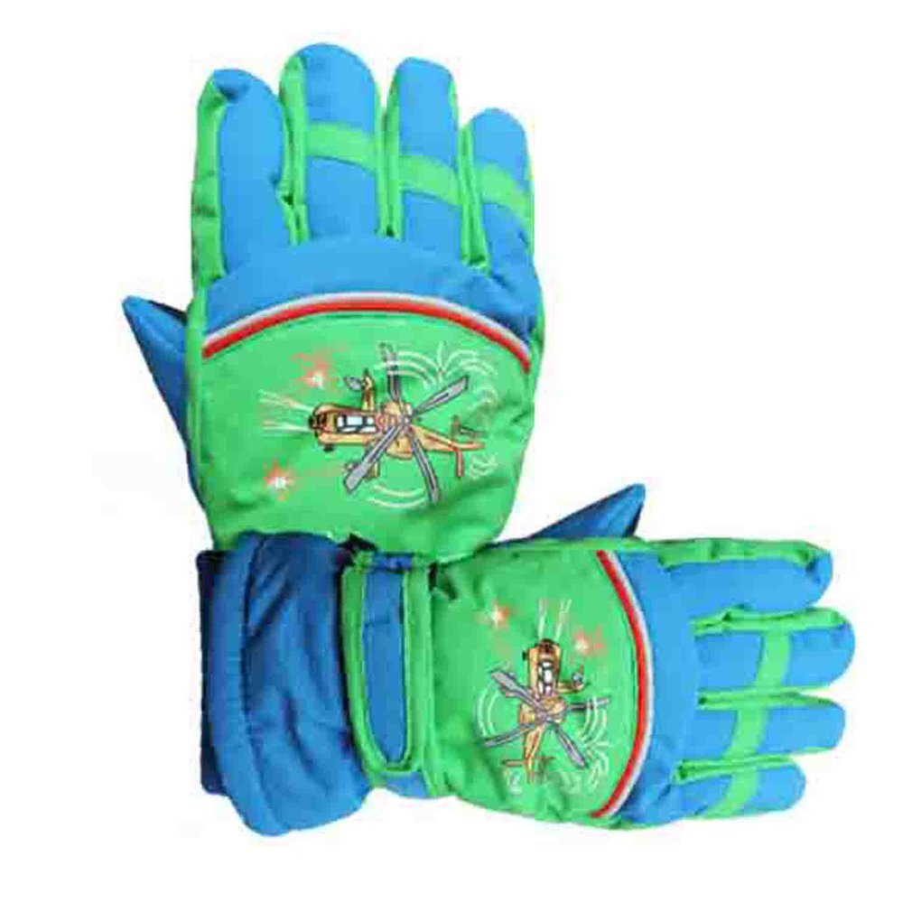 4-10 Years Old Children's Skiing Gloves Skating Boy Girl Cartoon Outdoor Warm Winter Gloves