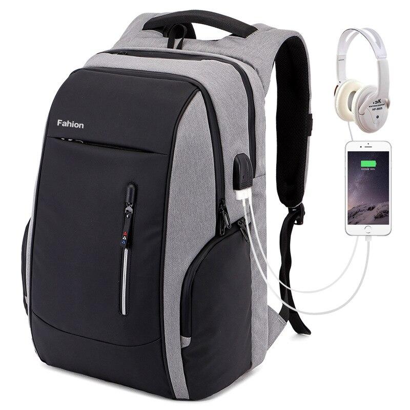Fabricants vente directe Anti-vol sac à dos multi-fonctionnel voyage d'affaires sac de voyage USB chargement ordinateur sac à dos hommes