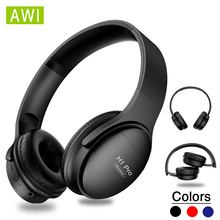 AWI H1 Pro Bluetooth Headphones Wireless Earphone Over-ear Noise HiFi Stereo Can