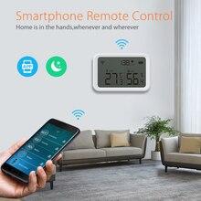 Wireless Smart Electric Digital Indoor Hygrometer Thermometer Tuya ZigBee Temperature And Humidity Sensor Measuring Tool