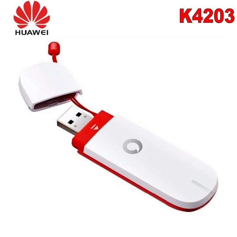 Nuevo módem USB Vodafone K4203 3G 21Mbps ¡Gran venta! 1800Mhz 4G celular amplificador DCS LTE 1800 red 4G amplificador de señal móvil 1800 2g 4g repetidor gsm 2g 3g 4g Booseter