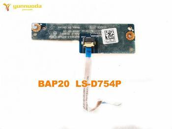 Oryginał dla DELL ALIENWARE 17 R4 kabel zasilający przycisk BAP20 LS-D754P testowany dobry darmowy wysyłka