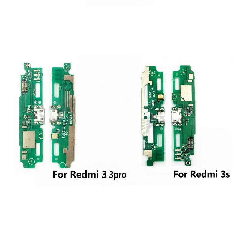 New USB Charge Board & Microphone Module For Xiaomi Redmi 3 3pro 3S Charging Port Dock Repair Parts