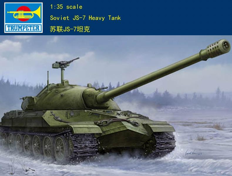 Trumpeter Model 05586 1/35 Soviet JS-7 Heavy Tank Object 206 Plastic Model Kit