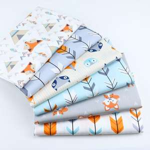 Cotton-Fabric Dress Textiles Arrow Cloth Diy Quarters-Material Baby Quilting Sewing Twill