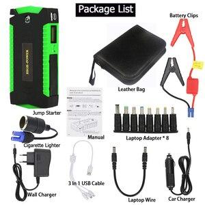 Image 5 - GKFLY haute puissance 16000mAh dispositif de démarrage 12V voiture saut démarreur Portable batterie externe voiture batterie chargeur pour essence Diesel Booster