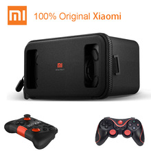 Original Xiaomi VR Play Virtual Reality 3D Glasses  for 4.7  5.7 Phone Headset Xiaomi Mi VR Play2 With Cinema Game Controller
