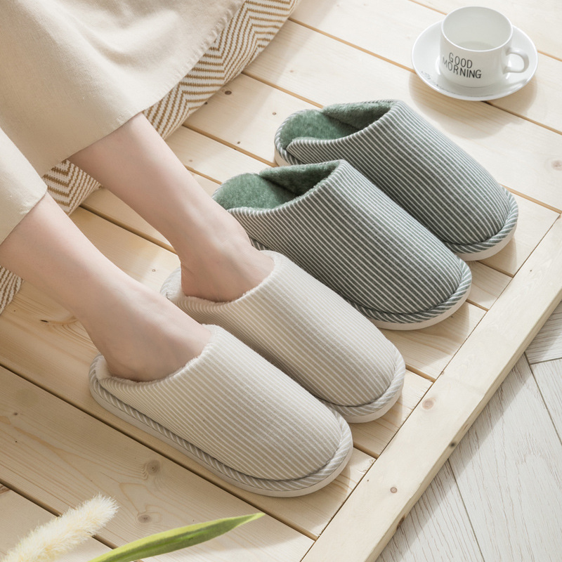 Women Men/'s Winter Loafers Slippers Casual Home Shoes Hollow Fur Lined Slide HOT