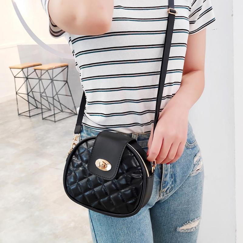 New Fashion Shoulder Bags Handbags  Women Mini Messenger Bag PU Leather Shoulder Bag Female Shell Purse Crossbody Bags For Women