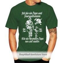 Mode Männer Männer Hip Hop 3D Druck Feuerwehr Papa T-Shirt Freiwillige,Ffw,Helden,Einsatz,Rettung, rettungs, Vater,Kindnerd T Shirts