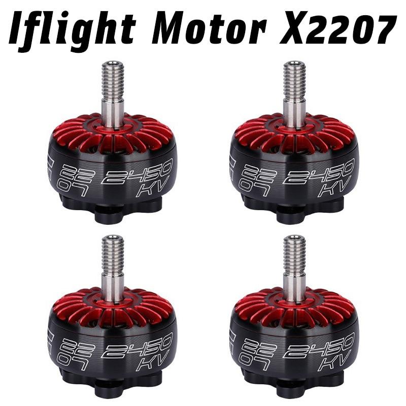 Гоночный двигатель IF светильник Xing 2207 1700KV 1800KV 2450KV 2750KV 2-6S FPV NextGen, сверхсветильник двигатель для гоночного дрона, сделай сам