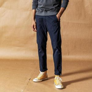 Image 3 - SIMWOOD 2020 spring New Solid Pants Men Classical basic trousers 100% cotton high quality male brand clothing 190435