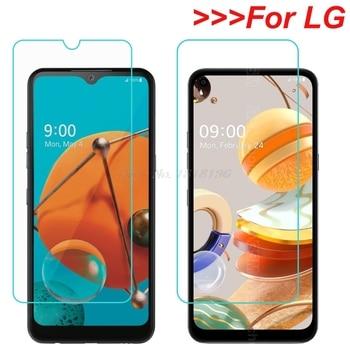 Перейти на Алиэкспресс и купить Защитная пленка для экрана LG K31 K41S K51S K61 Q51 Q61 из закаленного стекла LG Neon Plus Style3 Stylo 5X 6 V60 W10