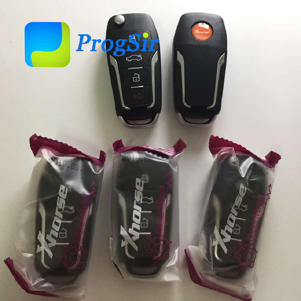 XEFO01EN Xhorse VVDI Super Remote Key For Ford Style Control With Electronic Super XT27 Chip Inside Can Be Used As Super Chip