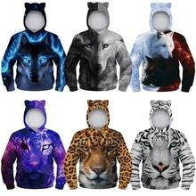 Boys Hoodies Sweatshirt Kids Jacket Children Clothes Autumn Girls Fashion Casual 3D Print