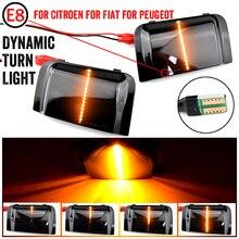 LED Dynamische Seite Spiegel Anzeige Licht Für Peugeot Boxer Für Citroen Jumper RELAIS Für RAM PROMASTER Für Fiat Ducato Lkw