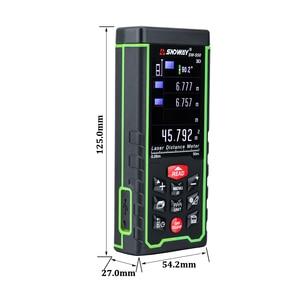 Image 3 - SNDWAY Color display 50m 164ft Digital rechargeable Laser Rangefinder laser distance meter measure tools free shipping