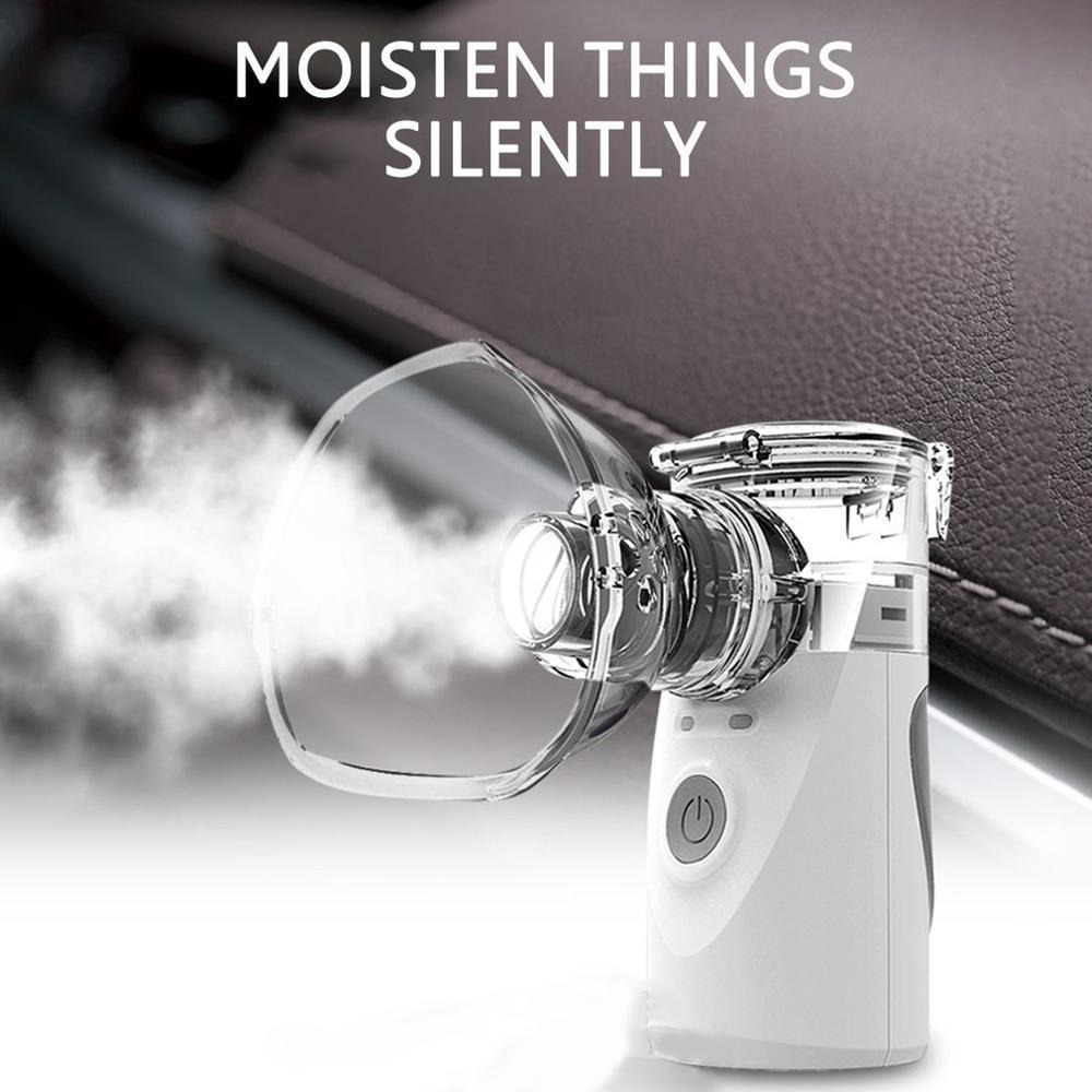 Health Care Steaming Device Handheld Portable Inhale Nebulizer Silent Ultrasonic Inalador Nebulizador Children Adult Automizer