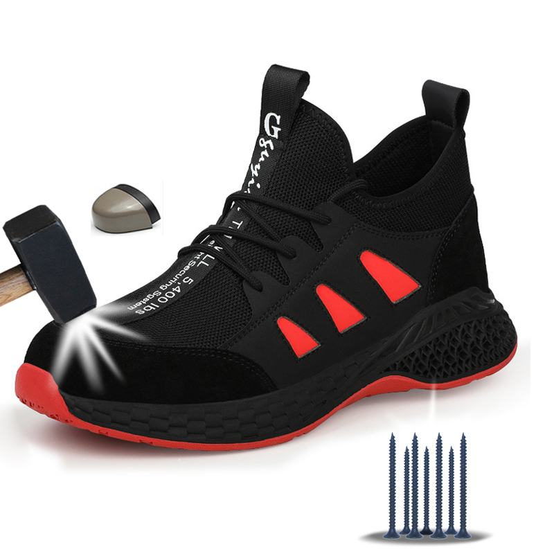 Work Safety Boots Men Shoes Sneakers