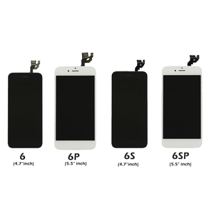 Image 4 - Full Set Complete Assembled LCD Display For iPhone 6 6S 7 8 Plus LCD Touch Screen Digitizer For iPhone 5S 5C 5 +Front Camera