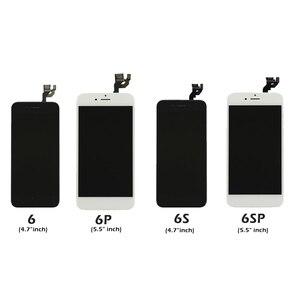 Image 4 - Full Set Komplett Montiert LCD Display Für iPhone 6 6S 7 8 Plus LCD Touch Screen Digitizer Für iPhone 5S 5C 5 + Front Kamera