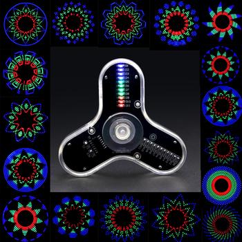Elektroniczny zestaw do majsterkowania fidget spinner zestaw do produkcji LED zabawny zestaw do spawania diy RG550 tanie i dobre opinie BONATECH Nowy Układy scalone logiczne -20-+60