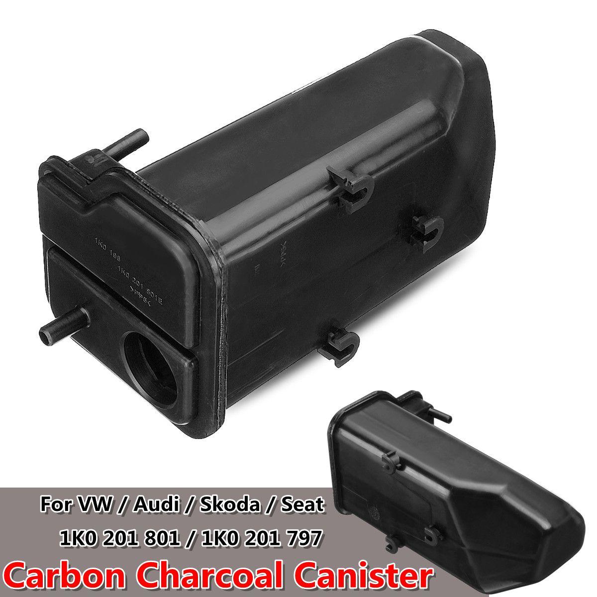 1K0 201 801 Car Carbon Charcoal Canister For Volkswagen For VW Jetta Golf For Audi A3 TT For Skoda Seat 1K0 201 801E 1K0 201 797