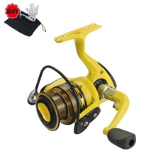 8BB Folding Rocker Fishing Reel All Metal Head Nylon Plastic Body Fish Wheel High Strength Rough Throwing Line Spinning Reels baja 5sc high strength nylon hub wheel assembly 95103