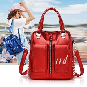 Image 5 - Gykaeo sacs à main de luxe pour femmes, sac à couleurs bonbons de styliste, fourre tout Fashion Street en perles, sacs à épaule pour femmes