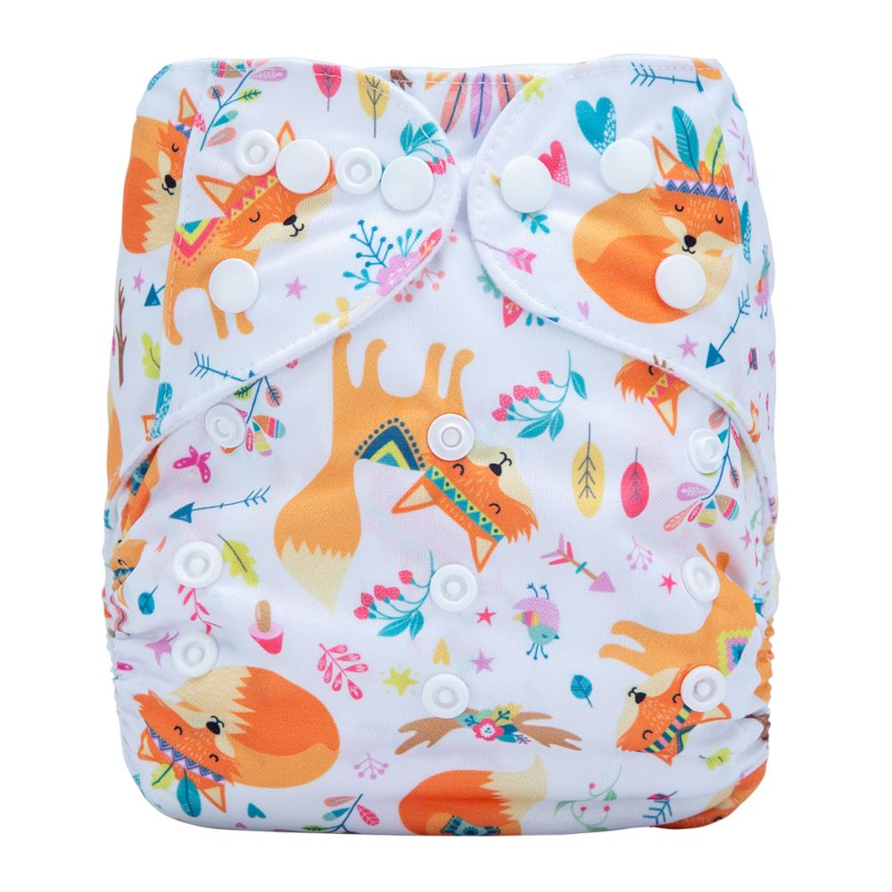 Washable Organic Plastic Baby Cloth Dream Diapers Without Inserts Reusable Cloth Nappies N32