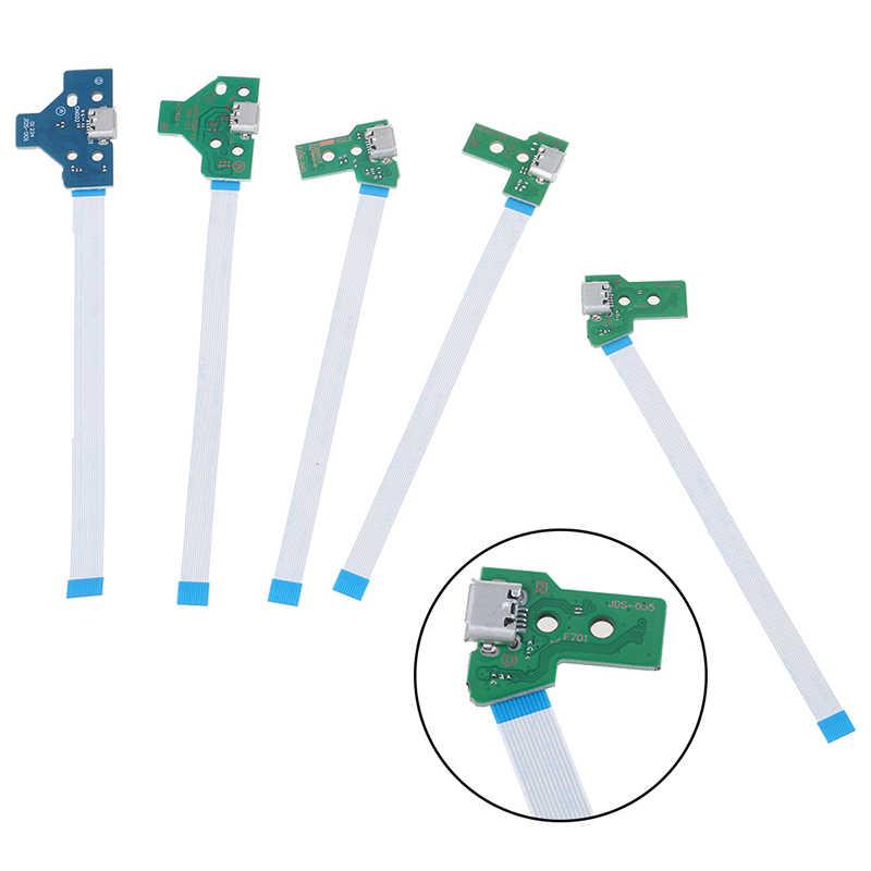 1 قطعة USB ميناء الشحن المقبس لوحة دوائر كهربائية ل 12Pin دينار 011 030 040 055 14Pin 001 موصل ل PS4 تحكم