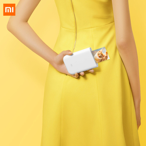 Image 2 - חדש Xiaomi AR תמונה מדפסת 300dpi נייד תמונה מיני כיס עם DIY 3 אינץ תמונה מדפסת כיס מדפסת עבודה עם Mijia APP