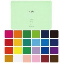 Gouache – ensemble de peintures, 24 couleurs vives, Non toxiques, avec étui Portable, Palette pour artiste