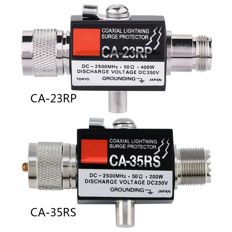 CA-35RS CA-23RP PL259 SO239 Radio Repeater Coaxial Lightning Antenna Surge Protector