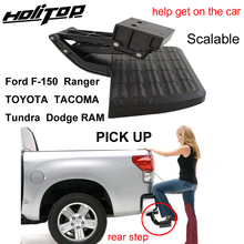 Rear-Step-Board Tacoma/tundra Ram/ford Ranger/toyota Dodge Convenient Get-On-The-Car