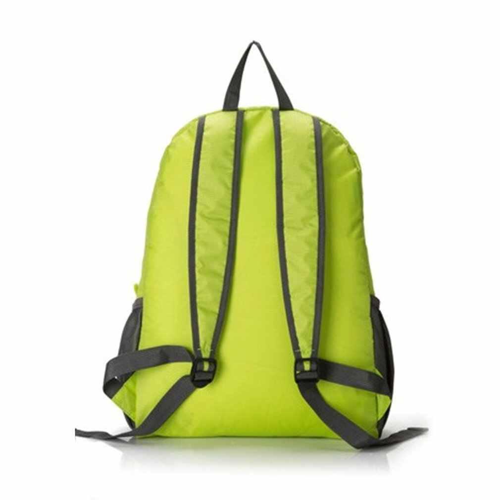 Torba turystyczna plecak lekki składany wodoodporny Nylon kobiety mężczyźni skóra plecak plecak podróż Outdoor Sports Camping