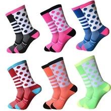 New Cycling Socks Men Women Sports  Bike Running Compression Socks